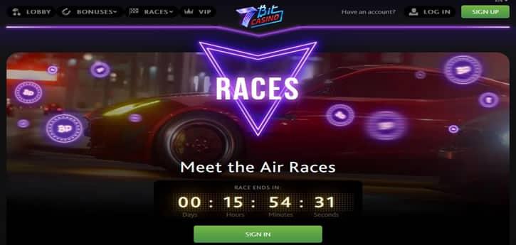 7bitcasino race