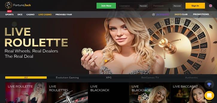 Casino Fortunejack 25 Free Spins No Deposit Bonuses